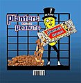 Planters Peanuts w/Mr. Peanut Large Animated Billboard Kit -- HO Scale Model Railroad Sign -- #7061