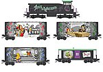 Alice in Wonderland Train-Only Set -- N Scale Model Train Set -- #99321250