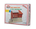 Stone and Gravel Depot -- N Scale Model Railroad Building -- #1518