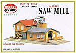 Saw Mill Kit -- N Scale Model Railroad Building -- #1523