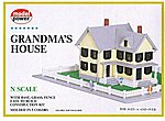 Grandma's House -- N Scale Model Railroad Building -- #1556
