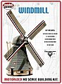 Motorized Windmill Kit -- HO Scale Model Railroad Operating Accessory -- #404