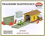 Trackside Maintenance Kit -- HO Scale Model Railroad Building -- #408
