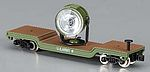 Searchlight Car w/Figures (Metal) -- United States Army - N-Scale