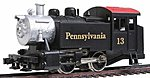 0-4-0 Loco Pennsylvania RR -- HO Scale Model Train Steam Locomotive -- #96501