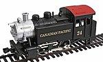 0-4-0 Tank Switcher Canadian Pacific -- HO Scale Model Train Steam Locomotive -- #96507
