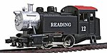 0-4-0 Tank Switcher Reading -- HO Scale Model Train Steam Locomotive -- #96508