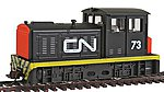 DDT Plymouth Industrial Canadian National -- HO Scale Model Train Diesel Locomotive -- #96673