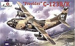 C123B/K Provider USAF Cargo Aircraft -- Plastic Model Airplane Kit -- 1/144 Scale -- #1404