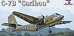 C7B Caribou Cargo Aircraft -- Plastic Model Airplane Kit -- 1/144 Scale -- #1412