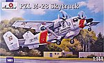 PZL M28 Skytruck Light Cargo/Passenger Aircraft -- Plastic Model Airplane Kit -- 1/144 -- #1461