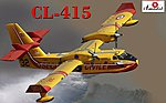CL415 Amphibious Aircraft (New Tool) -- Plastic Model Airplane Kit -- 1/144 Scale -- #1476
