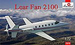Lear Fan 2100 Turboprop Aircraft -- Plastic Model Airplane Kit -- 1/72 Scale -- #72310