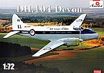 1/72 DH104 Devon New Zealand Warbirds Light Transport Aircraft (New Tool)
