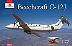 Beechnut C12J Military Turbo Prop Aircraft -- Plastic Model Airplane Kit -- 1/72 Scale -- #72344