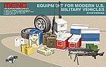 Equipment for Modern US Military Vehicles -- Plastic Model Vehicle Accessory -- 1/35 Scale -- #sps14