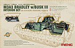 M3A3 Bradley with Busk III Interior -- Plastic Model Military Vehicle Kit -- 1/35 Scale -- #sps17