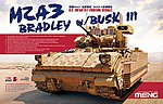 M2A3 Bradley with Busk III -- Plastic Model Military Vehicle Kit -- 1/35 Scale -- #ss004