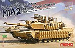 US MBT M1A2 Abrams -- Plastic Model Military Vehicle Kit -- 1/35 Scale -- #ts026