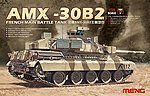 AMX30B2 French Main Battle Tank -- Plastic Model Military Vehicle Kit -- 1/35 Scale -- #ts13
