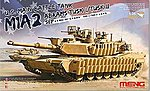 M1A2 SEP Abrams Tusk I/II US Main Battle Tank -- Plastic Model Military Vehicle Kit -- 1/35 -- #ts26