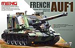 French AUF1 155mm Self-Propelled Howitzer (New Tool) -- Plastic Model Tank Kit -- 1/35 -- #ts4