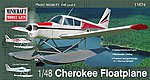 Piper Cherokee Float Plane -- Plastic Model Airplane Kit -- 1/48 Scale -- #11674