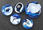 Blue Jay Marbles -- Marble -- #77575