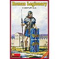 Roman Legionary II Century A.D. -- Plastic Model Military Figure -- 1/16 Scale -- #16007