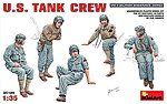 US Tank Crew -- Plastic Model Military Figure -- 1/35 Scale -- #35126