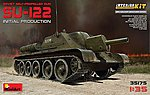Su122 Soviet Self-Propelled Tank -- Plastic Model Military Vehicle Kit -- 1/35 Scale -- #35175