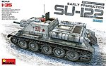 SU-122 Early Production No Interior -- Plastic Model Military Vehicle Kit -- 1/35 Scale -- #35181