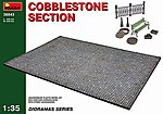 Cobblestone Section -- Plastic Model Diorama -- 1/35 Scale -- #36043