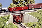 Expansion Bridge Kit For #9005 Concrete and Girder Bridge -- N Scale Model Railroad Bridge -- #9006