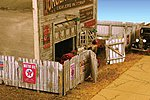 Junk Yard Fence 338 Scale Feet Total -- N Scale Model Railroad Building Accessory -- #9309
