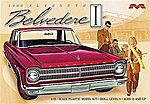 1965 Plymouth Belvedere -- Plastic Model Car Kit -- 1/25 Scale -- #1218