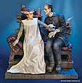 Bride And Monster -- Plastic Model Celebrity Kit -- 1/8 Scale -- #928
