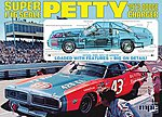 Richard Petty Nascar Charger - Plastic Model Car Kit - 1/16 Scale - #767/06