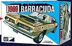 1969 Plymouth Barracuda -- Plastic Model Car Kit -- 1/25 Scale -- #832