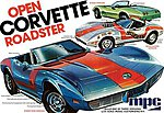 1975 Chevy Corvette Convertible -- Plastic Model Car Kit -- 1/25 Scale -- #842