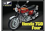 Honda 750 Four Motorcycle -- Plastic Model Motorcycle Kit -- 1/8 Scale -- #827-06