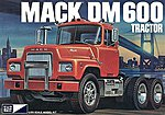 Mack DM600 Tractor -- Plastic Model Truck Kit -- 1/25 Scale -- #pc859