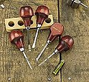 5-1/2'' Straight Handle Whitiling Woodworking Tool Set (5pcs)