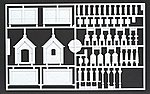 HO Mausoleum Kit w/20 Tombstones