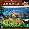 Grand Canyon North Rim 500pcs -- Jigsaw Puzzle 0-599 Piece -- #30728