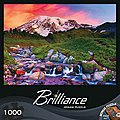Alpine Sunrise 1000pcs -- Jigsaw Puzzle 600-1000 Piece -- #71599