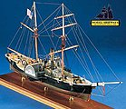 Harriet Lane Gunboat -- Wooden Model Ship Kit -- 1/96 Scale -- #2010