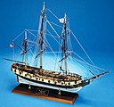 Rattlesnake US Privateer -- Wooden Model Ship Kit -- 1/64 Scale -- #2028