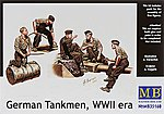 1/35 German Tankmen WWII Era - 5 Figure Set