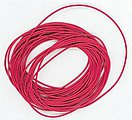 30 Gauge Ultra Flexible Single Conductor Wire (Red) -- Model Railroad Accessory -- #48r3001